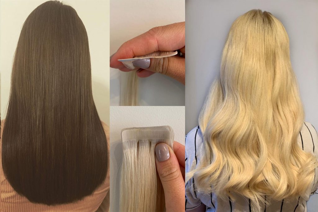 Tapes Hair Extensions